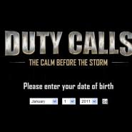 Duty Calls, hmmmm
